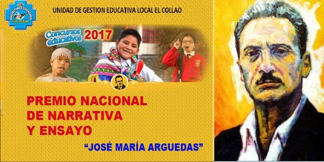 CONCURSO NACIONAL DE NARRATIVA Y ENSAYO JOSÉ MARÍA ARGUEDAS